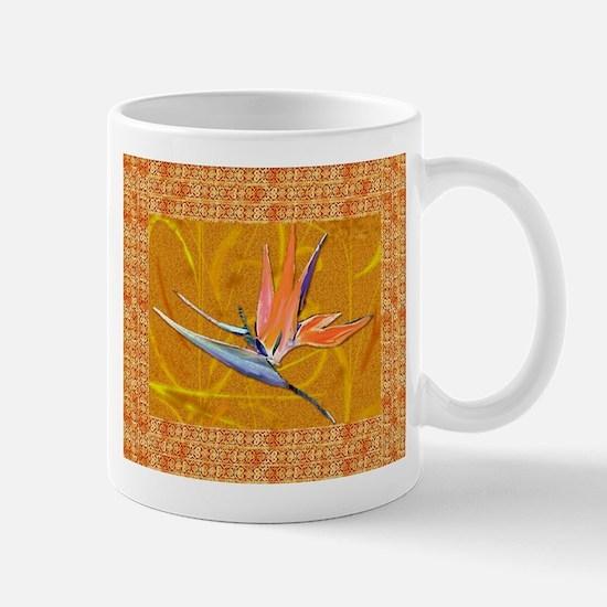 Gold Bird of Paradise Mug