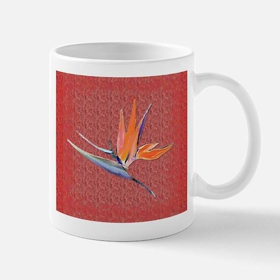 Red Bird of Paradise Mug