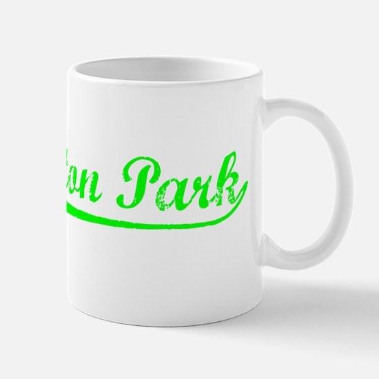 Vintage Huntington.. (Green) Mug