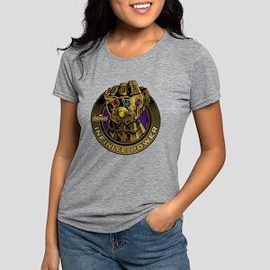 Avenger Infinity War Gold Womens Tri-blend T-Shirt
