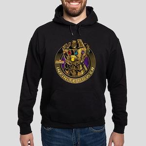 Avenger Infinity War Gold Gauntlet Hoodie (dark)