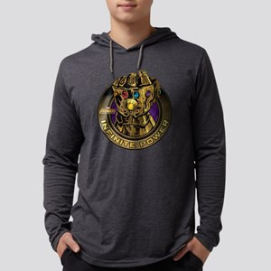 Avenger Infinity War Gold Gauntl Mens Hooded Shirt