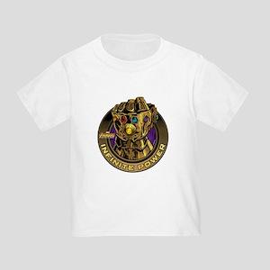 Avenger Infinity War Gold Gauntlet Toddler T-Shirt