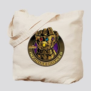 Avenger Infinity War Gold Gauntlet Tote Bag