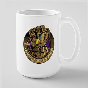 Avenger Infinity War Gold 15 oz Ceramic Large Mug