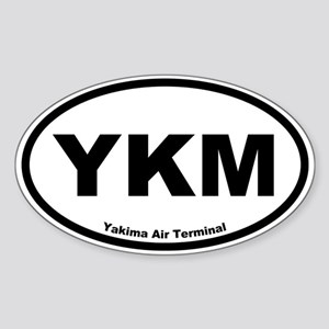 Yakima Air Terminal Oval Sticker