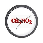 Ch3No2 Nitromethane Wall Clock