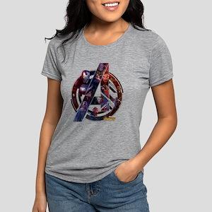 Avengers Infinity War Sym Womens Tri-blend T-Shirt