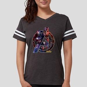 Avengers Infinity War Symbol Womens Football Shirt