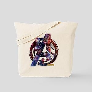 Avengers Infinity War Symbol Tote Bag