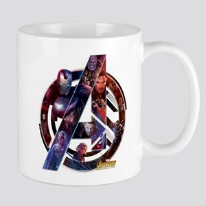 Avengers Infinity War Symbol 11 oz Ceramic Mug