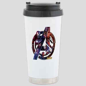 Avengers Infinity 16 oz Stainless Steel Travel Mug