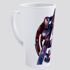 Avengers Infinity War Symbol 17 oz Latte Mug