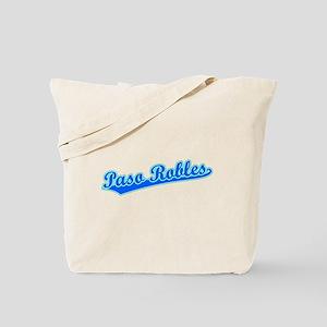 Retro Paso Robles (Blue) Tote Bag