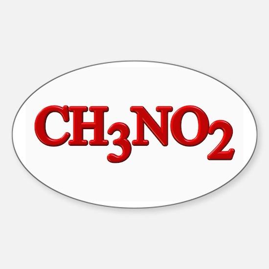 Nitro Nitromethane Oval Decal