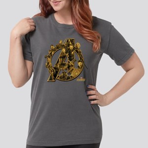 Avengers Infinity War Womens Comfort Colors Shirt