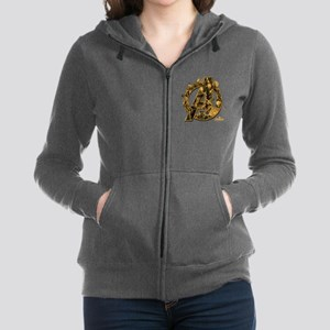 Avengers Infinity War Gold Women's Zip Hoodie
