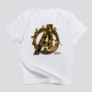 Avengers Infinity War Gold Infant T-Shirt