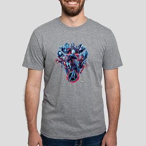 Avengers Infinity War Stanc Mens Tri-blend T-Shirt