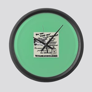 Lucy Vitameatavegamin Large Wall Clock