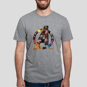 Avengers Infinity War Logo Mens Tri-blend T-Shirt