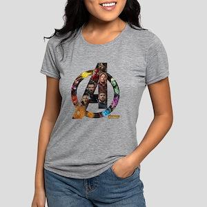 Avengers Infinity War Log Womens Tri-blend T-Shirt