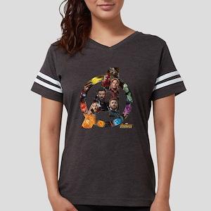 Avengers Infinity War Logo Womens Football Shirt