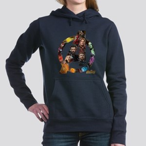Avengers Infinity War Lo Women's Hooded Sweatshirt