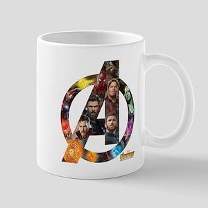 Avengers Infinity War Logo 11 oz Ceramic Mug