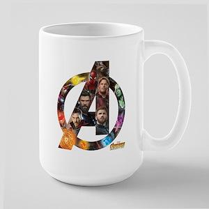 Avengers Infinity War Log 15 oz Ceramic Large Mug