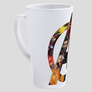 Avengers Infinity War Logo 17 oz Latte Mug