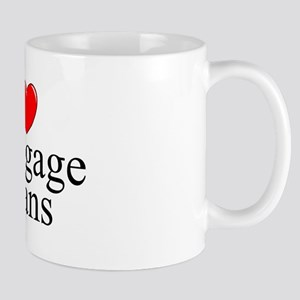 """I Love (Heart) Mortgage Loans"" Mug"