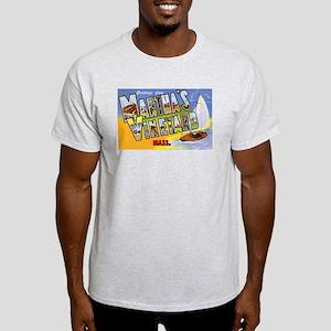 Martha's Vineyard Cape Cod (Front) Light T-Shirt