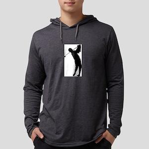 Golfing Silhouette Long Sleeve T-Shirt