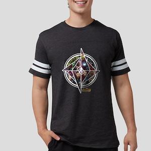 Avengers Infinity War Circle Mens Football Shirt