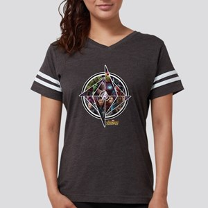 Avengers Infinity War Circle Womens Football Shirt