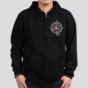 Avengers Infinity War Circle Zip Hoodie (dark)