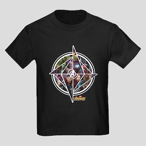 Avengers Infinity War Circle Kids Dark T-Shirt