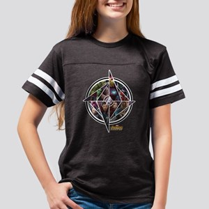 Avengers Infinity War Circle Youth Football Shirt