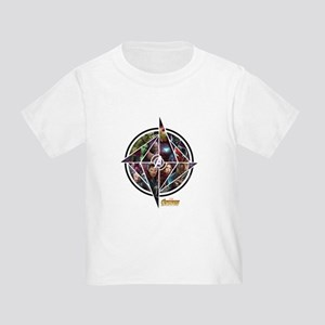 Avengers Infinity War Circle Toddler T-Shirt