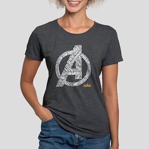 Avengers Infinity War Nam Womens Tri-blend T-Shirt