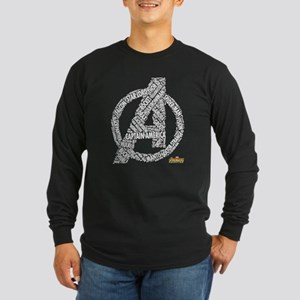 Avengers Infinity War Nam Long Sleeve Dark T-Shirt