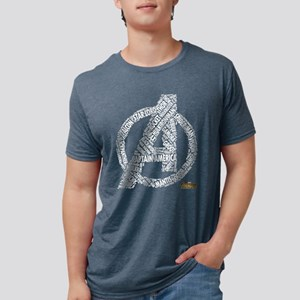 Avengers Infinity War Names Mens Tri-blend T-Shirt