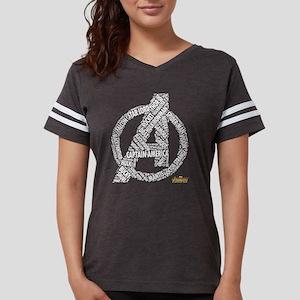 Avengers Infinity War Names Womens Football Shirt