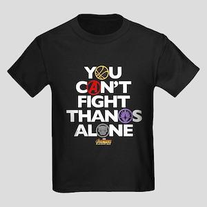 Avengers Infinity War Fight Kids Dark T-Shirt