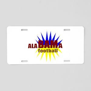 Alabama football Aluminum License Plate