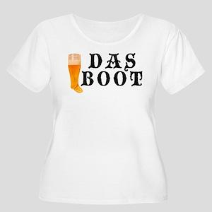 Das Boot Women's Plus Size Scoop Neck T-Shirt