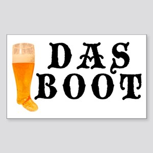 Das Boot Rectangle Sticker