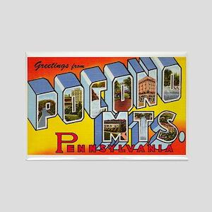Pocono Mts Pennsylvania Rectangle Magnet