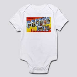 Pocono Mts Pennsylvania Infant Bodysuit